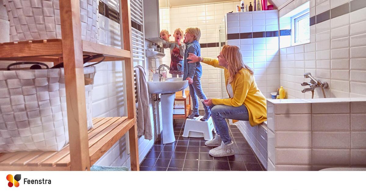 Ventilatie Badkamer Muur : Badkamer afzuiging tegen schimmel feenstra ventilatie